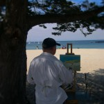 Me Painting at Del Monte Beach